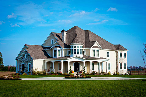 Custom Home Exterior Idea Gallery
