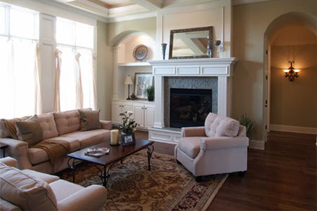 Custom Home Living Spaces Gallery