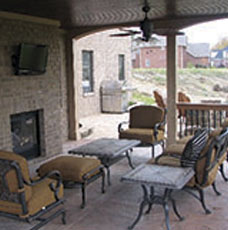 example of outdoor living space