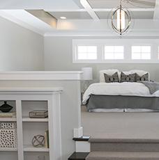 Custom Homes Master Bedroom