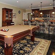 Custom Home Design - Entertainment Spaces