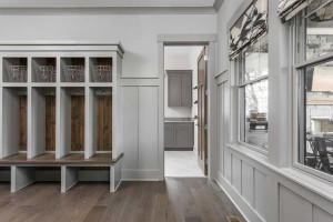 Mudroom designs should make life easier for the whole family.