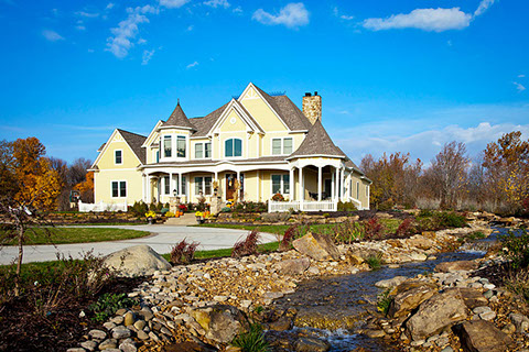 Luxury farmhouse designs for custom homes g g custom homes for Luxury farmhouses