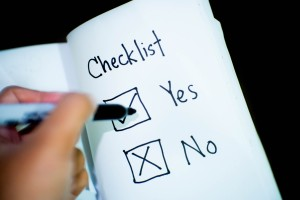 Check the custom home buyer checklist before you start the process.