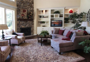 Tips for upgrading your custom home living spaces.