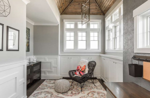 Create cozy and comfy living spaces in your custom home.
