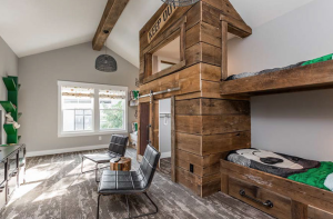 Incorporate wood accents and wood tones throughout your home.