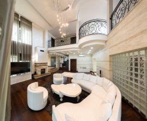 ambient lighting in custom home