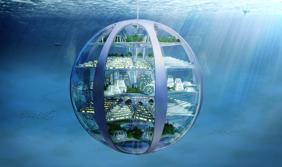 underwater homing dome