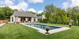 landscaping a custom home
